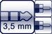 Mini-Klinke 3p.<br>2x Cinch