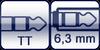 TT-Phone<br>Klinkenbuchse 3p. 6,3mm