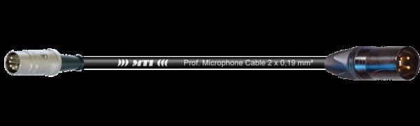 MTI Digital Midi-Cable, DIN 5p./XLR 3p. male Goldkontakt