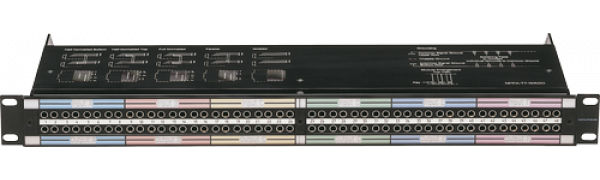 NEUTRIK Bantam-Patch-Panel, 2x48 TT, Federklemmen