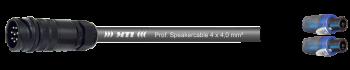 MTI LS-Breakout-Cable, 4x4,0 mm², PACOM 8p.male o.Ü., 2x Speakon 4p.
