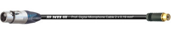 MTI Digital Audio-Adapter, XLR-fem. 3p./Cinch-Bu., 0,2 m