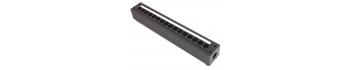 MTI Metall-Stagebox, 16 Bohrungen, Cutout D-Serie