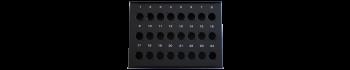 MTI Metall-Stagebox, 24 Bohrungen, Neutrik D-Serie