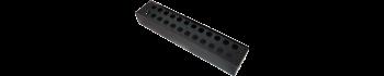 MTI Metall-Stagebox, 24 Bohrungen, Cutout D-Serie
