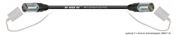 MTI CAT5e Ethernet-Kabel AWG26/7,schwarz,2x Neutrik Ethercon