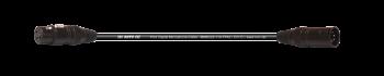 MTI Prof. DMX-Adapter-Cable, XLR-fem.3p./male 5p., 1,5 m