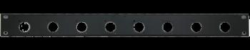 MTI Patch-Panel, 8 Bohrungen - D-Serie