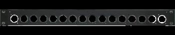 MTI Patch-Panel, 16 Bohrungen - D-Serie