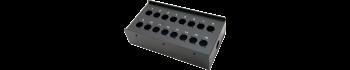 MTI Metall-Stagebox, 16 Bohrungen, Neutrik D-Serie