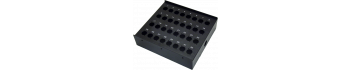 MTI Metall-Stagebox, 32 Bohrungen, Neutrik D-Serie