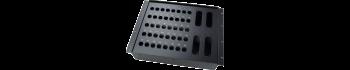 MTI Metall-Stagebox 19'', 40 Bohrungen, Neutrik D-Serie