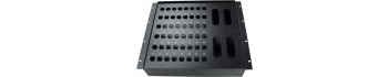 MTI Metall-Stagebox 19'', 48 Bohrungen, Neutrik D-Serie